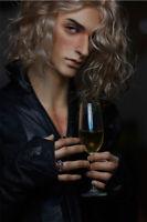 1/4 BJD Poupée Beau Mâle Garçon Résine Poupée + Yeux + Visage Maquillage