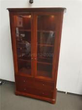 John Lewis Willis Gambier Lille Cherry Display Cabinet RRP1600 2495