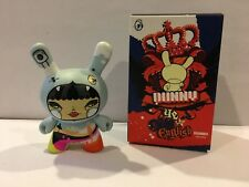 "Kidrobot 3"" Dunny Ye Olde English Series Julie West ?/?? Rare chase!"