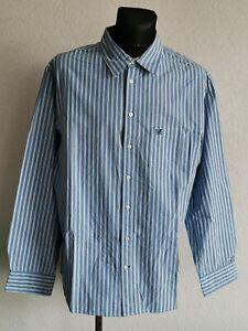 Crew Clothing Co mens cotton long sleeve striped shirt size XXL