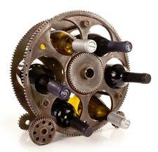 True Wine Racks - Gears & Wheels 6 Bottle Rack