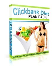 New Clickbank Diet Plans Pack E-book in pdf + free e books with Resell Rights