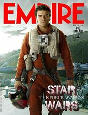 STAR WARS FORCE AWAKENS EMPIRE MAGAZINE MANIFESTO POE DAMERON OSCAR ISAAC