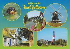 Insel Pellworm ,Ansichtskarte, gelaufen