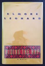 ELMORE LEONARD - RIDING THE RAP - SIGNED - 1ST EDITION - HB