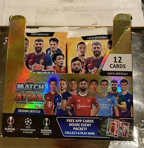 Topps Match Attax UEFA Champions League Trading Cards X 10 Packs