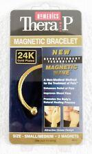 Homedics MB-G1 Magnets Plates Magnetic Gold Small/Medium Bracelet