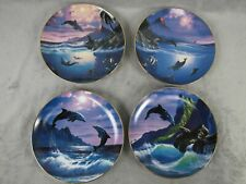 Set 4 Dolphin Kiss :Bradford Exchange Plates: Anthony Casay