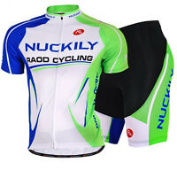 Men's Cycling Jersey Bike Short Sleeve Clothing Bicycle Sports Wear Shorts Set