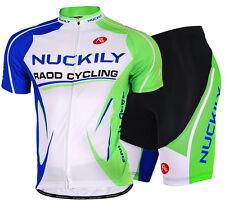 Men's Cycling Jersey Bike Short Sleeve Clothing Bicycle Sports Wear Shorts Set