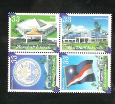 Marshall Islands  748 MNH F-VF Se-Tenat National Government Architecture