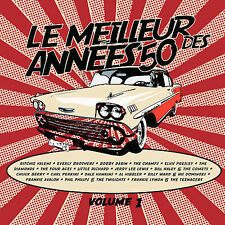 CD Le Meilleur Best des of Annees 50's Vol 1 by Various Artists 2009 NEW SEALED