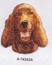 Irish Setter Dog Breed Embroidery Patch