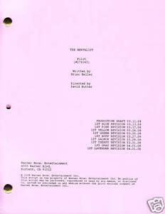 """THE MENTALIST show script """"Pilot"""""""