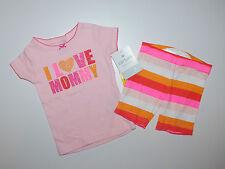 Carter's ~ estados unidos ~ 62-68 ~ pijama ~ pijama ~ brevemente chicas ~ ~ I Love mami ~ algodón ~ nuevo