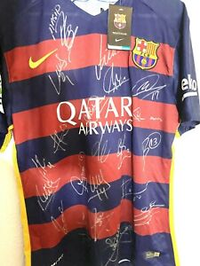 2015 Barcelona Signed Jersey