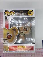 Funko Pop Vinyl The Lion King 547 Simba Figure P01