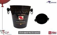 Mumm Cuvee Napa Brut Champagne Vintage Ice Bucket For Mangum or any size wine
