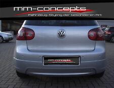 VW GOLF V 5 individual poppa approccio posteriore Grembiule GTI TDI R ABS r32 NUOVO POSTERIORE