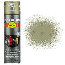 X11 Rust-Oleum métallique acier inox argent Peinture aérosol solide CHAPEAU 2116