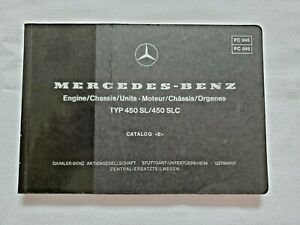Repair Manuals Literature For Mercedes Benz 450sl For Sale Ebay