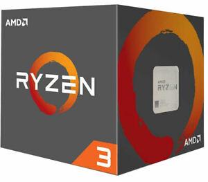 AMD Ryzen 3 1200 4x 3,1 / 3,4 GHz 8MB CACHE SOCKEL AM4 TDP 65W NEU BOX OVP