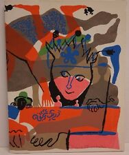 RARE David Stone Martin Pencil Signed Jester Folder with 7 Funky Lithographs