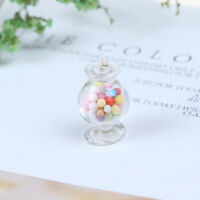 1:12 Dollhouse Miniature Mini Candy Bottles Dollhouse Kitchen Accessories  R8Y