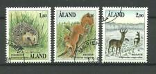 Aland Animals Ã…land Islands Mammals set 1991, used