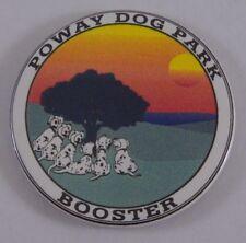 Poway Dog Park Booster Fridge Locker Magnet California City Dalmatians