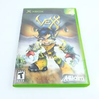 Vexx (Microsoft Xbox, 2003) Game and Case tested and works
