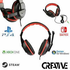 Gaming Headset For Xbox One, PS4, Nintendo Switch & PC - 12 Month Warranty