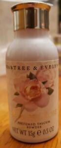 Crabtree Evelyn MINI Talc Body Powder--EVELYN ROSE   15g 0.5 oz