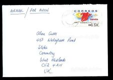 Spain 2005 Airmail Cover To UK #C2184
