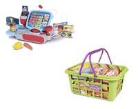 Casdon Enfants Jeux de Rôle Supermarché Till & Provisions Panier Ensemble Paquet