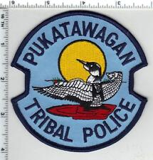 Pukatawagan Tribal Police (Canada) Shoulder Patch from the 1980's