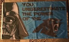 Carolina Panthers Star Wars Darth Vader Banner Officially Licensed NFL Lucasfilm