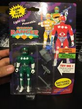 NEW 1994 VTG SOMA Sonic Rangers Power Rangers  Bootleg Figure LIGHT UP POSEABLE