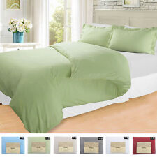 3 Piece Duvet Cover and Shams Set King Queen Full Twin