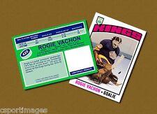 Rogie Vachon - Los Angeles Kings - Custom Hockey Card  - 1975-76