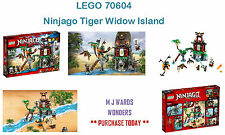 LEGO 70604 - Ninjago Tiger Widow Island ** PURCHASE TODAY **