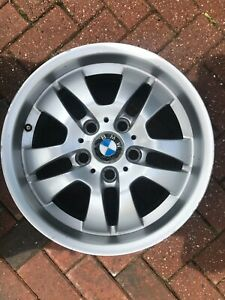 "BMW 3 SERIES 16"" STYLE 154 SPARE ALLOY WHEEL RIM E90 E91 E92 E93 6765762 OEM #4"