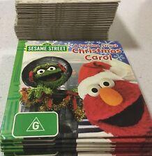 Sesame Street A Christmas Carol DVD Very Rare 2010 Oscar Elmo Bert ABC For KIDS