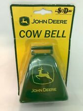 New John Deere Tractor Metal Cow Bell - NEW In Package FREE SHIPPING