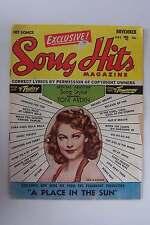 Song Hits Magazine November 1951 Vol 15 No 4