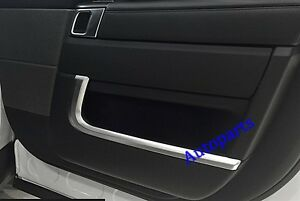 4pcs Chrome Interior Door molding Strips Trim For Land Range Rover Sport 2014+