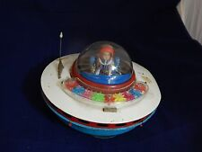 1965 Vintage by KO, Yoshiya Series, Sky Patrol Flying Saucer, Tin Japan
