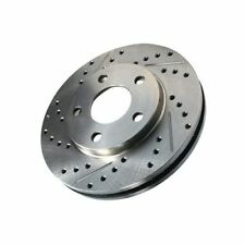 Centric 227.42080R Front Right Disc Brake Rotor-C-TEK Sport Drilled/Slotted Disc