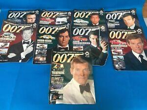Model James Bond Cars with diorama 1/43 Brand New 20-29