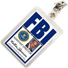 Walter Skinner X FILES FBI ID Badge Name Tag Card Prop for Costume Cosplay XF-2